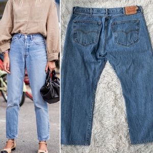VINTAGE LEVIS 501 DAD JEANS GREATEST OF ALL TIME